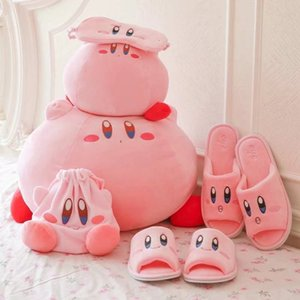 New Game Kirby Adventure Kirby Plush Toy Soft Doll Large Stuffed Animals Toys For Children Birthday Gift Home Decor Y200703