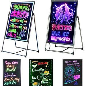Étude Kits couleurs Led Board enfants Apprentissage Diy Conseil fluorescent Led écriture Boar Publicité Promotion Magasin Conseil Diy