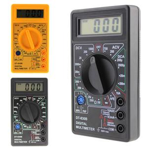 LCD Mini Digital Multimeter DT-830B Voltmetro elettrico Ammeter Ohm Tester AC DC 750 1000V Amp Volt Volt Voltatore TESTER TESTER1