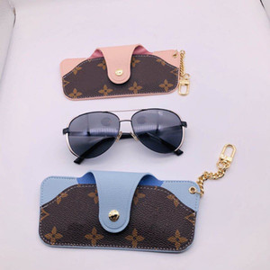 European and American men and women fashion sunglasses protective cover, bag key ring, with packaging box