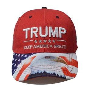 2020 Donald Trump Hat élection présidentielle américaine Trump Lettre de broderie nouveau style casquette de baseball Keep America Great Chapeaux HHA1260