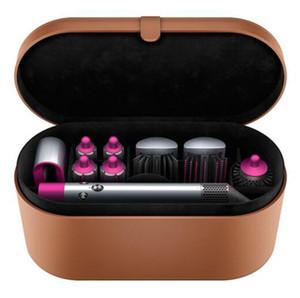 Top Quality DYS Cabelo Curler Multi-função dispositivo automático Curling Iron 8 Caixa de presente cabeça mais quente 24 Horas Rápido frete grátis-8