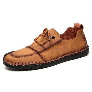 skyaxmoto sapatos 2019 outono nova dos homens quatro estações por dia ao ar livre tênis para caminhada sapatos casuais esfregar grandes sneakers planas 7307