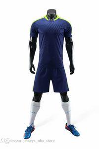 Hombre del fútbol de los jerseys del diseño en línea personalizada de los hombres s de malla funcionamiento de la personalidad de tienda de ropa Uniformes de fútbol costumbre popular B22-06