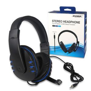 Cuffia Gaming Headset 3 in 1 Big cuffia compatibile con PS4 / ONE / passare Headset Gioco interfaccia di 3.5mm Gaming Headset