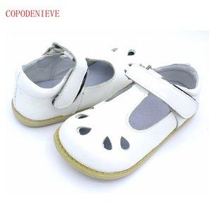 COPODENIEVE высококачественные детские кожаные сандалии обувь одного лета малышей Малыши младенца Детская обувь из натуральной кожи