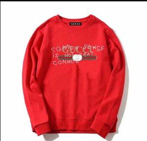 Automne Et D'hiver Chandail Hommes Et Femmes Enfants Paragraphe T-shirts Grande Tête De Code Manches Imprimer Vierge Peut