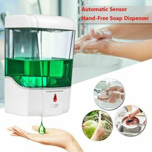 Parete del sensore del sapone liquido Touchless Automatic Soap Dispenser 700ml Dispenser sensore Accessori Bagno CCA12199 30pcsN