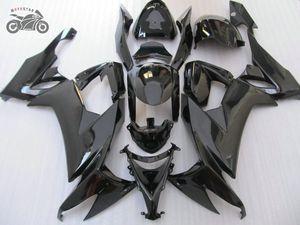 Anpassen fairings Kit für Kawasaki Ninja 2008 2009 2010 2011 ZX-10R Schwarzkörperverkleidung Kits 08 09 10 11 ZX-10R ZX 10R
