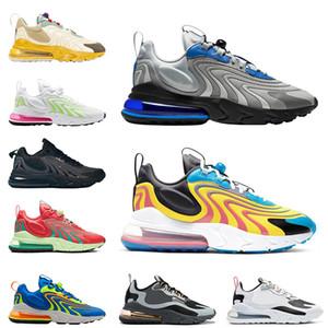 Nuovo Reagire ENG uomini donne scarpe Laser Blu Neon Bauhuas Triple nero verde menta mens allenatore des chaussures zapatos sneakers 36-45 in esecuzione