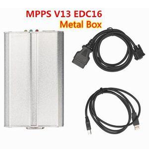 2020 Nuovo MPPS V13 16 Metal Box ECU del circuito integrato l'attrezzo di sintonia Remap K + PUÒ lampeggiatore MPPS V13 di trasporto