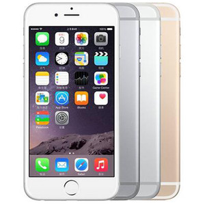 Original Refurbished Apple iPhone 6 Plus With Fingerprint 5.5 inch A8 Chipset 1GB RAM 16 64 128GB ROM IOS 8.0MP LTE 4G Phone Free DHL 10pcs