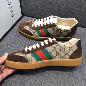 Yeni moda erkek rahat ayakkabılar moda rahat spor ayakkabıları iş iş kadın ayakkabıları Zapatos Hombre G002 ambalaj orijinal kutusu