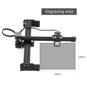 Ligue Laser US máquina de gravura de alta velocidade Área de trabalho Laser Gravador Printer DIY Gravura Cortador de máquina