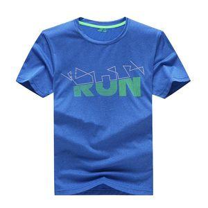 Summer Kid Quick Dry футболка Открытый влаго- Влагоотведение особенность Спорт T Одежда Детская шею с коротким рукавом Одежда