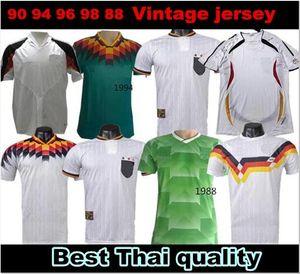 1990 1994 1996 1988 Germania Retro versione Littbarski BALLACK maglia da calcio Klinsmann Matthias casa lontano 1998 camicie Kalkbrenner JERSEY