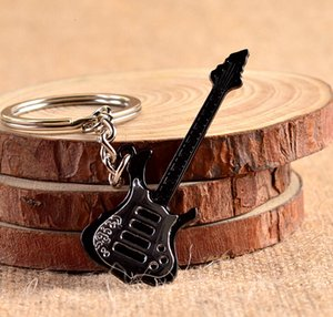 / Lot de la cadena linda caliente Guitarra Instrumento violín llavero llavero llavero llavero llavero llave anillo del regalo del recuerdo
