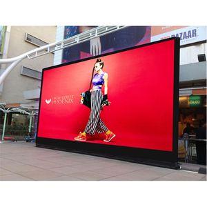 P6 fundición de aluminio interior/al aire libre alquiler pantalla led 96*96 píxeles p3, p4, p5, p6 smd led panel de pared de vídeo pantalla de TV