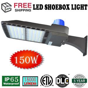 مصابيح LED لوقوف السيارات LED Light Shoebox Pole، 150W (500-600W HID / HPS Replacement)