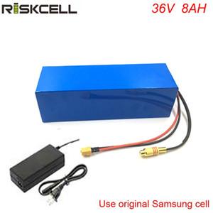 Высокое качество 36V 500W Электрический велосипед Ebike Battery 36V 8Ah Литий-ионный аккумулятор Pcak с 15A BMS 2A Зарядное устройство
