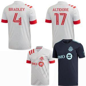 2020 2021 Toronto Football Maillots Altidore BRADLEY FC 20 21 hommes de football et les enfants chemise