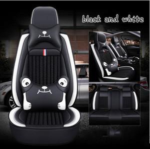 Lexus Tüm mankenler GX460 GX470 GX400 RX580 Koltuk Yastık AKSESUARLA şekillendirme için Yüksek Kalite PU + buz ipek Karikatür oto koltuk kılıfları