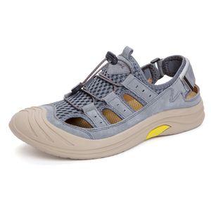 большой Herren Sandale sandalsslippers zandalias Heren мода ет Мужчина для Cuire Сандел ERKEK спорт пляж человек sandalen работа размера