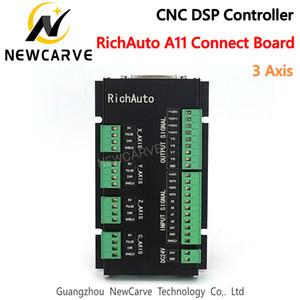 Véritable carte de contrôle de mouvement à 3 axes RichAuto DSP A11 A12 A15 A18 Connect uniquement en anglais NEWCARVE