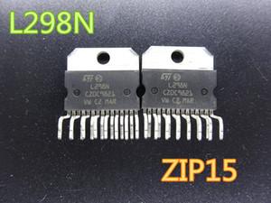 10PCS / 많은 새로운 집적 회로 L298N L298 ZIP15 스테퍼 모터 드라이버 칩 IC / 재고 무료 배송에 브리지 드라이버