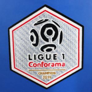 2019/2020 Ligue 1 de France de Football Patch Patch du champion Conforama Badge de football Livraison gratuite!