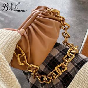 BXX Sac / 2020 nube pacchetto Designer pelle morbida catena selvaggia borsa delle donne della molla di modo di lusso solido alle spalle Colore Bag 2343