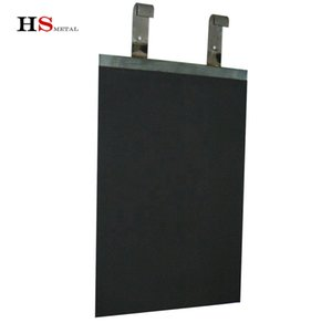vente chaude anode en titane revêtu de MMO et la cathode pour piscine Protection Cathodique Titanium Anode galvanoplastie industryInsoluble Titaniu