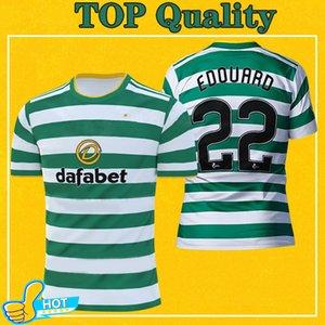Celtic Fußball-Jersey-2021 FC Heim MCGREGOR GRIFFITHS BROWN FORREST Maillot De Fuß 20 21 EDOUARD Fußball-Hemd