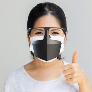 Máscara de protección facial reutilizable Anti Splash Spray moda creativa máscaras protectoras PE Anti polvo máscaras protectoras