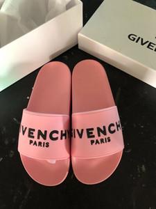 2020 топ мужчины и женщины сандалии обувь высокого качества змея печати роскошные слайд летняя мода широкие плоские сандалии тапочки с размером коробки Eur36-45