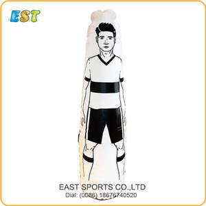 Spedizione gratuita 10PCS 0.5mm PVC gonfiabile portiere di calcio corpo manichino manichino di calcio per lo sport allenamento con pompa ad aria
