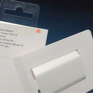 Adaptador de corriente de 50pc / lot de alta calidad A1385-A1400-nos enchufe USB de la UE del cargador de pared para el iPhone x más con el empaquetado de DHL