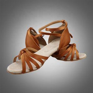 Livraison gratuite S5526 chaussures de danse latine / filles Ballroom chaussures de danse latine en stock expédition rapide chaussures latin