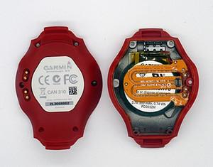 ENFOQUE original de tapa de la batería carcasas para Garmin contraportada S3 reloj GPS con piezas de repuesto de batería