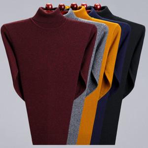 Turtleneck Men Clothes 2020 Autumn Winter Cashmere Cotton Blend Warm Pullover Jumper Man Jersey Hombre Pull Homme Hiver Sweater