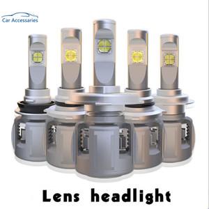 X70 H7 주도 H4 램프 15600LM D4S H8 H1 H11 D3S 9005 9006 4 D1S 자동차 헤드 라이트 벌브 6000K 안개등 12V XHP-70 렌즈 크리어 칩