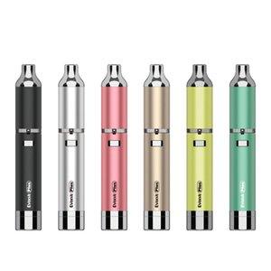 Autentica Yocan Evolve Inoltre Kit 2020 Cigarette Versione Quarzo bobina doppia Cera Pen vaporizzatore Vape 1100mAh Batteria elettronica DHL