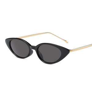 Мода Cat Eye Sunglasses UK Малый ПК Frame Cat Eye Модные солнцезащитные очки женщин Vintage солнцезащитные очки США