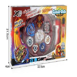 XD168-1 Burst Arena Generation Athletic Battaglia disco giocattolo Deluxe Edition Gyro Disco 4in1 Combinazione Set con maniglia Launcher