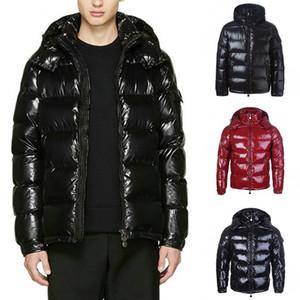 Revestimento do inverno luxo Parka Homens Mulheres clássico Casual Baixo Coats Mens Designer Outdoor Jacket Quente alta qualidade Unisex Brasão Outwear