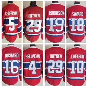 Personality Montréal Canadiens Hockey Jerseys قمصان قمم ، والبلوزات والملابس ، وشراء أفضل متجر على الانترنت متجر لبيع الملابس جيرسي