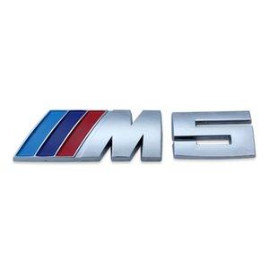50pcs  Lot Blue Dark Blue Red Logo Badge Trunk Auto Emblem Sticker Decal For Bmw    M5 528i 535i 550i Free Shipping