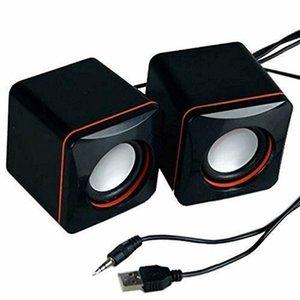 미니 휴대용 스피커 USB 유선 노트북 컴퓨터 스테레오베이스 음악 슈퍼 사운드를 들어 스마트 폰 노트북