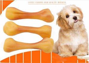 Pet Enamel Sound Dog Bone Cylinder Toy Bite Resistant Molar Toy Teddy Golden Maubie Beardog Pet Supplies