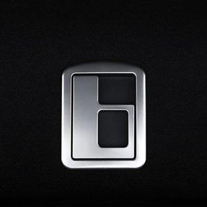 Coffre Poignée Cadre décoratif couverture Garniture Autocollants Pour Audi A3 8V Sedan 2013-2019 Intérieur voiture en acier inoxydable Accessoires